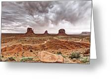 0883 Monument Valley Greeting Card