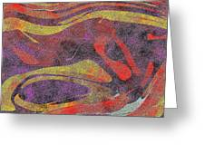 0906 Abstract Thought Greeting Card