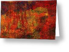 0911 Abstract Thought Greeting Card