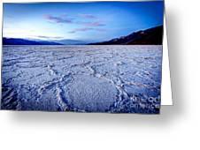 0919 Badwater Basin Greeting Card