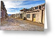 0926 Sky City - New Mexico Greeting Card