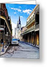 0928 St. Louis Cathedral - New Orleans Greeting Card