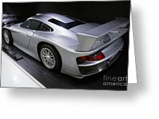 1997 Porsche 911 Gt1 Street Version Greeting Card