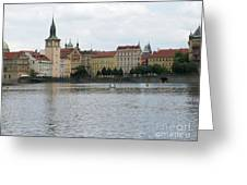 Praga Greeting Card
