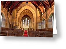 St Giles Shipbourne Greeting Card