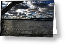 001 Grand Island Bridge Series Greeting Card