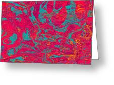 0217 Abstract Thought Greeting Card