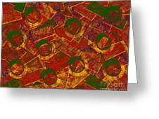 0255 Abstract Thought Greeting Card