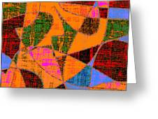 0267 Abstract Thought Greeting Card