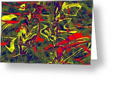 0399 Abstract Thought Greeting Card