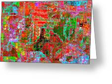 1306 Abstract Thought Greeting Card