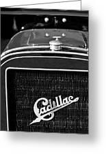 1907 Cadillac Model M Touring Grille Emblem Greeting Card