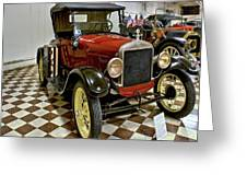 1926 Ford Model T Roadster Greeting Card