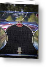 1930 Bugatti Type 50 Drop Head Coup Greeting Card