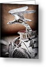 1932 Alvis Hood Ornament - Emblem Greeting Card