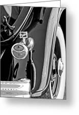 1932 Buick Series 60 Phaeton Taillight Greeting Card