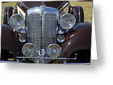 1933 Chrysler Imperial - Cl Phaeton Greeting Card