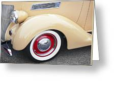 1936 Ford Cabriolet  Greeting Card