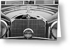 1936 Mercedes-benz 540k Mayfair Special Roadster Greeting Card