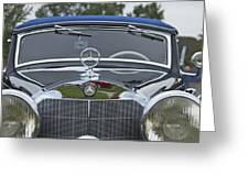 1937 Mercedes Benz Greeting Card