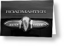 1939 Buick Eight Roadmaster Emblem Greeting Card