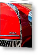 1939 Ford Grille Greeting Card