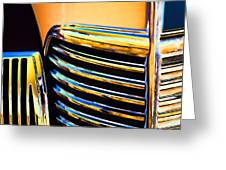 1939 Studebaker Champion Grille Greeting Card