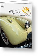 1940 Buick 41c Greeting Card