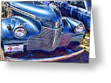 1940 Chevy Grill Greeting Card
