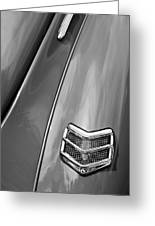 1940 Ford Deluxe Coupe Taillight Greeting Card