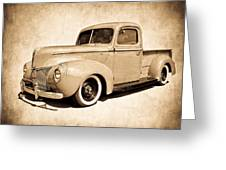 1940 Ford Pickup Greeting Card