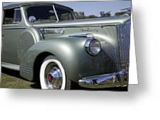 1941 Packard 160 Super Eight Greeting Card