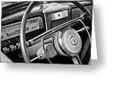 1941 Packard Steering Wheel Greeting Card