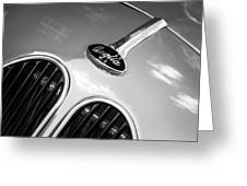 1948 Anglia Grille Emblem -510c Greeting Card