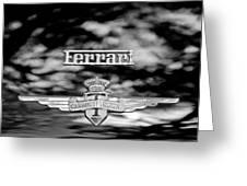 1950 Ferrari Emblem Greeting Card