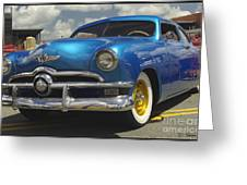 1950 Ford Automobile Greeting Card