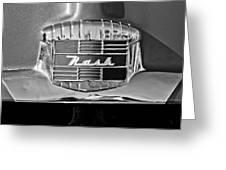 1951 Nash Emblem Greeting Card