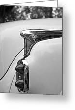 1952 Buick Eight Tail Light Greeting Card