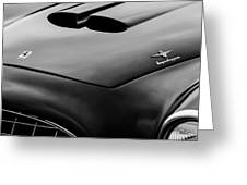1952 Ferrari 212 225 Barchetta Hood Emblems Greeting Card