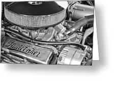 1953 Studebaker Champion Starliner Engine Greeting Card