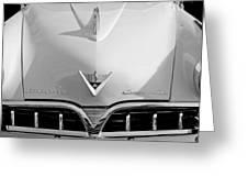 1953 Studebaker Emblem Greeting Card
