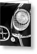 1954 Chevrolet Corvette Head Light Greeting Card