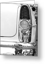 1955 Buick Special Tail Light Greeting Card