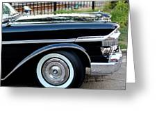 1957 Mercury Turnpike  Greeting Card