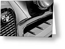 1957 Studebaker Golden Hawk Hardtop Grille Emblem Greeting Card