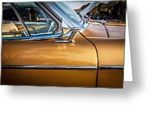 1957 Studebaker Golden Hawk  Greeting Card