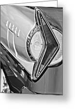 1958 Edsel Wagon Tail Light Greeting Card