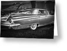 1959 Buick Electra 225 Bw Greeting Card