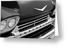 1959 Chevrolet Apache Front End Greeting Card