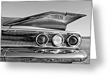 1960 Chevrolet Impala Resto Rod Taillight Greeting Card